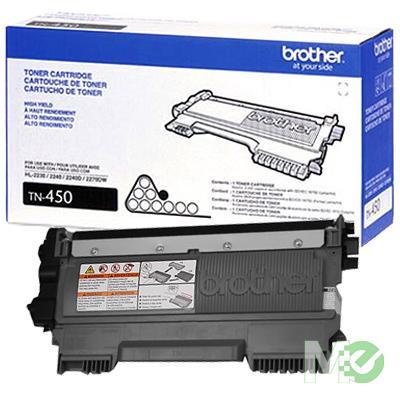 MX32831 TN-450 High Capacity Toner Cartridge, Black