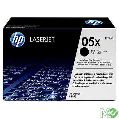 MX33504 LaserJet 05X Print Cartridges, Black - Dual Pack