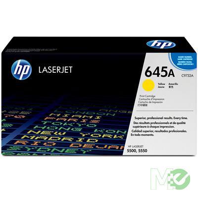 MX3436 Color LaserJet 645A Print Cartridge, Yellow