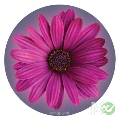MX34405 Purple Flower Round Mouse Pad