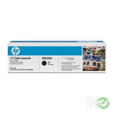 MX34874 Color LaserJet 125A Toner Cartridge, Black