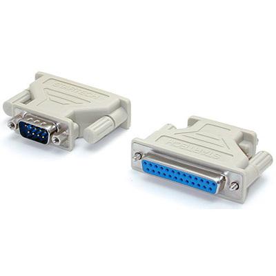 MX391 Serial Adapter, DB9M to DB25F