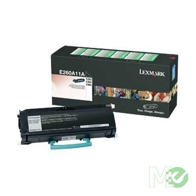 MX39482 E260A11A Toner Cartridge, Black