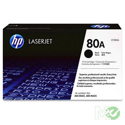 MX42518 LaserJet 80A Toner Cartridge, Black