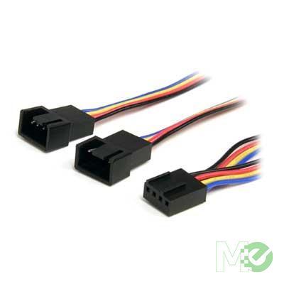 MX45170 4 Pin Fan Power Splitter Cable, 12in