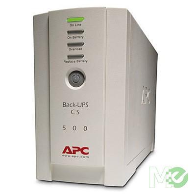 MX455 Back-UPS CS 500VA