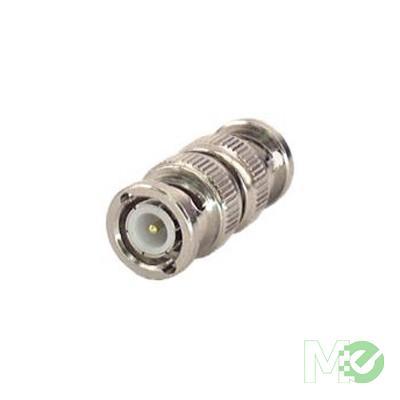 MX46112 BNC Male to Male Splice Coax Connector