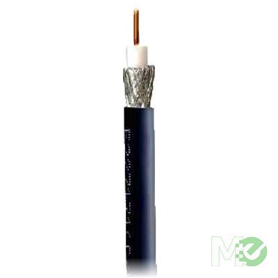 MX46130 RG6/U Coaxial Cable, 1,000ft Bulk Box, Black