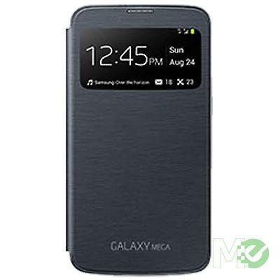MX47653 Galaxy Mega Black Case w/ Clear Window