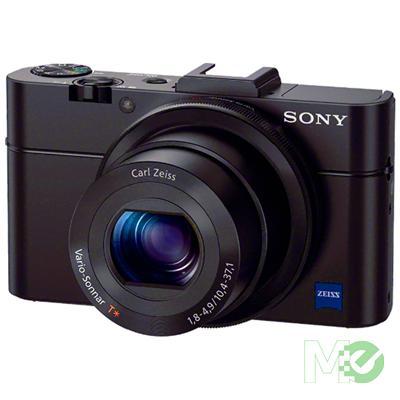 MX47682 Cyber-shot RX100 II Digital Camera, Black