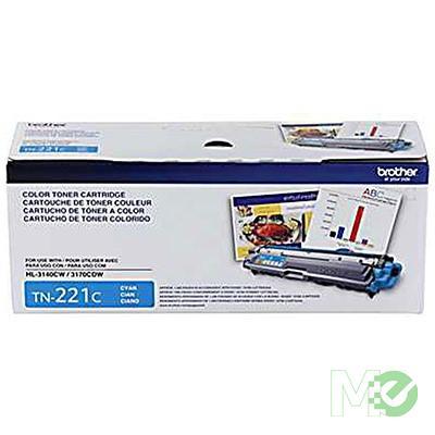 MX48223 TN-221C Toner Cartridge, Cyan