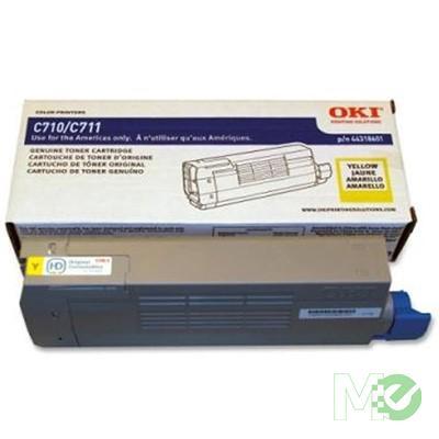 MX48558 C711 Series Toner Cartridge, Yellow
