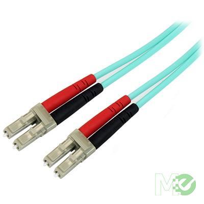 MX49160 10Gb 50/125 Multimode Aqua Fiber Patch Cable, LC - LC, 10m