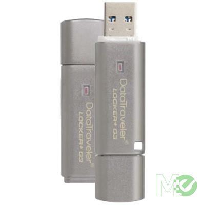MX50139 DataTraveler Locker+ G3 USB Drive, 64GB