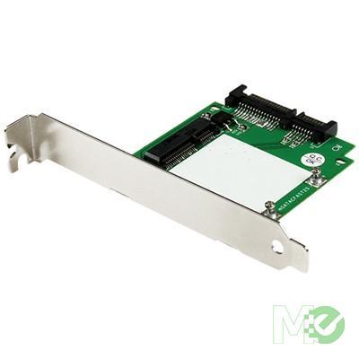 MX50423 SATA to mSATA Converter Card w/ Full and Low Profile Brackets