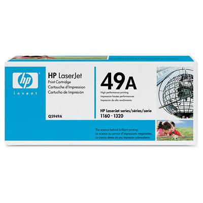 MX5099 LaserJet 49A Print Cartridge, Black