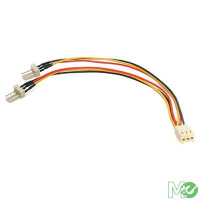 MX5153 TX3 Fan Power Splitter Cable, 6in.