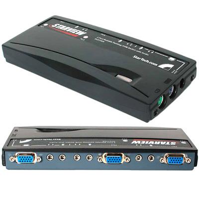 MX5155 2-Port StarView PS/2 KVM Switch w/ Audio