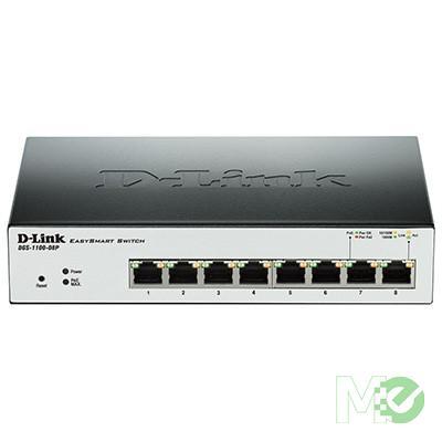 MX52005 1100 Series Smart Managed 8-Port Gigabit PoE Switch