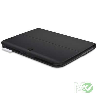 MX55951 Ultrathin Keyboard Folio Protective Case w/ Integrated Keyboard for Samsung Galaxy Tab 4 10.1