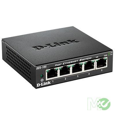 MX56695 5-Port Fast Ethernet Desktop Switch
