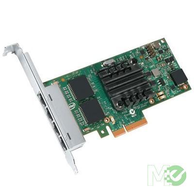 MX57472 4-Port Gigabit Ethernet Server Adapter I350-T4V2, PCI-E
