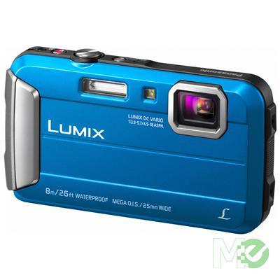 MX57599 Lumix DMC-TS30 Waterproof Digital Camera, Blue