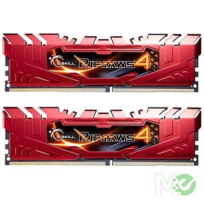 MX58566 Ripjaws 4 Series 8GB PC4-19200 Dual Channel DDR4 Kit (2 x 4GB), Red