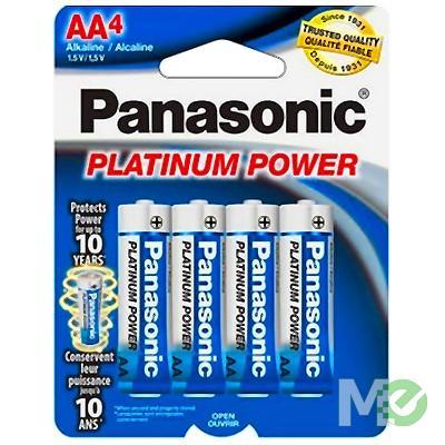 MX59333 AA Platinum Power Alkaline Batteries, 4 Pack