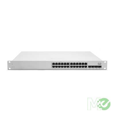 MX59530 MS320-24 24-Port Cloud-Managed L3 Gigabit Switch w/ 4x SFP+ Ports