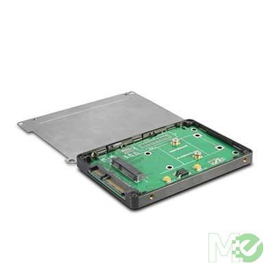 "MX59944 Multi-size mSATA to 2.5"" SATA Converter Enclosure"