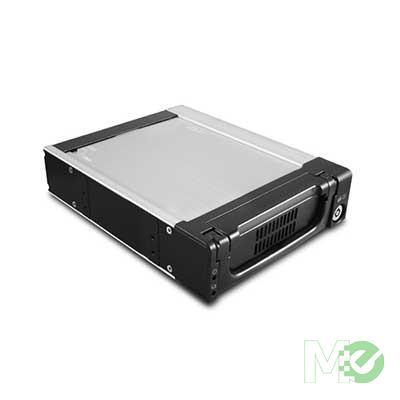 MX59947 EZ Swap 3.5in SATA/SAS HDD Mobile Rack w/ Key Lock and Fan