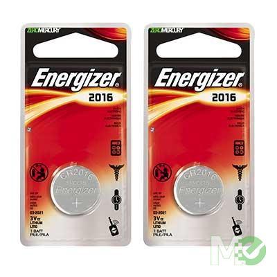 MX60786 Energizer Lithium CR2016, 2 Pack