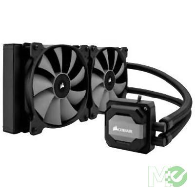 MX60904 H110i Hydro Liquid CPU Cooler w/ 280mm Radiator, Dual 140mm Fans