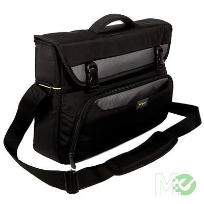 MX61401 City Gear Laptop Messenger Bag, 15-17in, Black