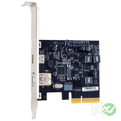 MX61435 Gigabyte USB 3.1 Adapter Card w/ 1x USB 3.1 Type C Port, 1x USB 3.1 Type A Port