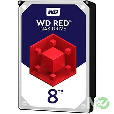 MX61567 RED 8TB NAS Desktop Hard Drive, SATA III w/ 128MB Cache