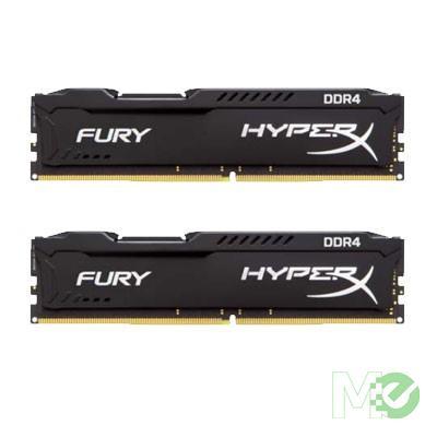 MX61806 HyperX Fury Series 16GB PC4-19200 DDR4 Kit (2x 8GB), Black
