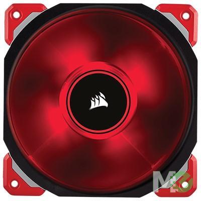 MX62716 ML140 PRO LED 140mm Premium Magnetic Levitation Fan, Red w/ Black