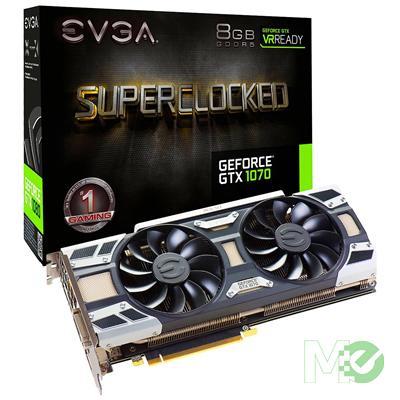 MX62796 GeForce GTX 1070 SuperClocked ACX 3.0 8GB PCI-E w/ DVI, HDMI, Triple DP