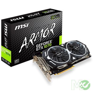 MX62860 GeForce GTX 1070 8G OC ARMOR PCI-E w/ DVI, HDMI, Triple DP