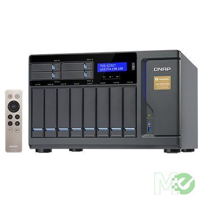 MX62984 TVS-1282T 12-Bay Thunderbolt 2 Turbo vNAS w/ Core i7-7700, 32GB
