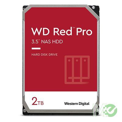 MX63101 RED Pro 2TB NAS Desktop Hard Drive, SATA III w/ 64MB Cache