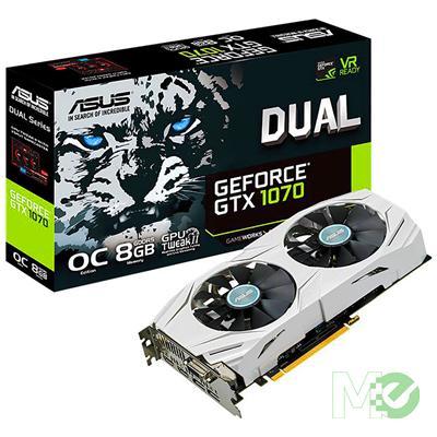 MX63320 DUAL GTX1070 OC GeForce GTX 1070 8GB PCI-E w/ DVI, Dual HDMI, Dual DP