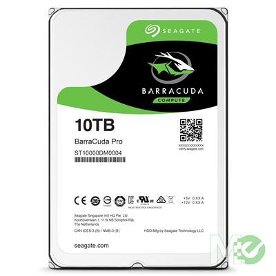 MX63364 10TB BarraCuda Pro HDD, SATA III w/ 256MB Cache