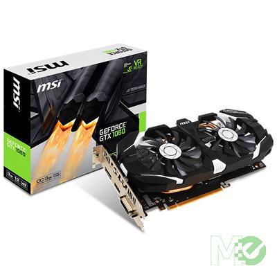 MX63584 GeForce GTX 1060 3GT OC Edition 3GB PCI-E w/ HDMI, DVI, DisplayPort