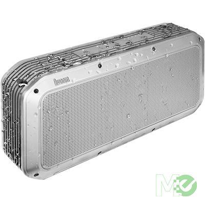 MX63718 Voombox 2nd Gen Party Portable Wireless Bluetooth Speaker, Silver