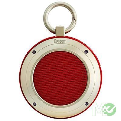 MX63720 Voombox Travel Bluetooth Portable Speaker, Red