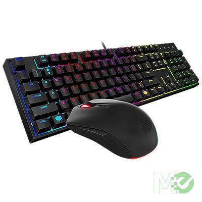 MX63801 MasterKeys Lite L RGB LED Gaming Keyboard & Mouse Combo