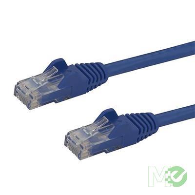 MX63839 Snag-less Cat 6 Patch Cable, Blue, 3ft.